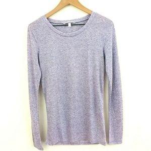 Victoria's Secret Lilac Purple Linen Blend Shirt